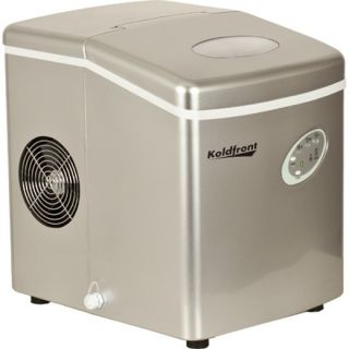 Silver Portable Ice Maker Free Standing Countertop Ice Machine