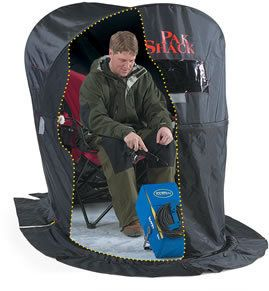 per Pak Shack Ice Fishing Portable Shelter House New