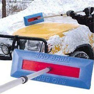 Car Snow Ice Scraper Shovel Removal Remover Brush Brum