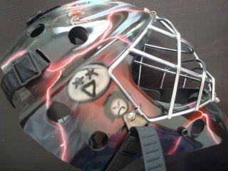 Olie 8000 Ice Roller Hockey Goalie Mask Cat Eye Goal Helmet Dream