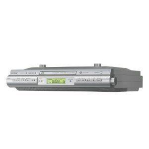 Sony ICFCDK50 Under Cabinet Kitchen CD Clock Radio Open Box