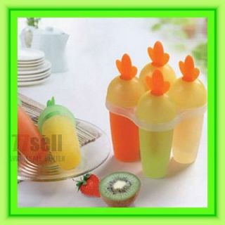 Carrots Popsicle Molds Freezer Ice Pop Maker Moulds New