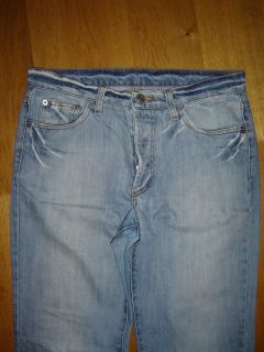 Iceberg Ice B Men`s Jeans Sky Blue Size 31