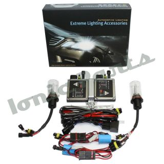 Bi Xenon Mid Slim HID Kit 9007 HB5 8000K Iceberg Blue Dual Beam Low