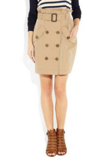 Burberry Brit Trench coat inspired cotton mini skirt