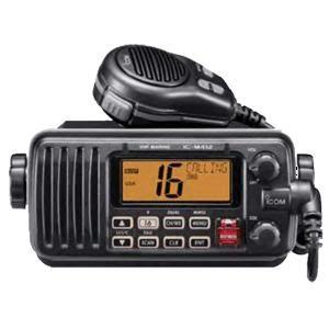 Icom M412 VHF Radio Black Marine Radio CB
