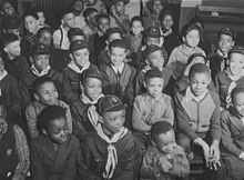 meeting of the cub scouts at the ida b wells housing project chicago