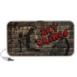 Dancing hip hop artist painted on a brick wall with tattoo art and the