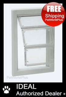 IDEAL **Ultra Flex** Pet Dog DOOR Flap     MEDIUM