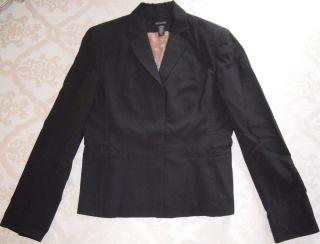 Ideology Black Lined Blazer or Jacket Sleeve Length Approx 25 Long Sz