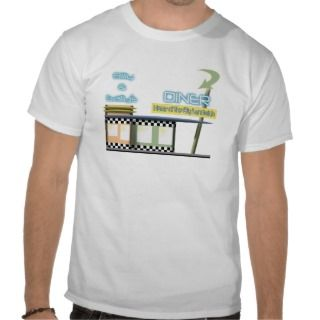 50s Diner T shirts, Shirts and Custom 50s Diner Clothing