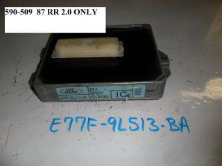 NEW OEM IDLE SPEED CONTROL MODULE FORD RANGER 87 88 2 0 E9TZ 9L513 B