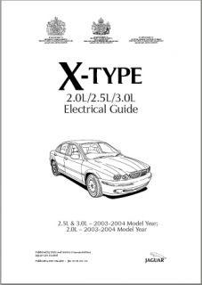 Jaguar Electrical Manual XJ6 XJ8 XJ12 XJS XKE XK8 s Type