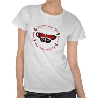 Lung Cancer Awareness Month Butterfly 1.3 Tshirts
