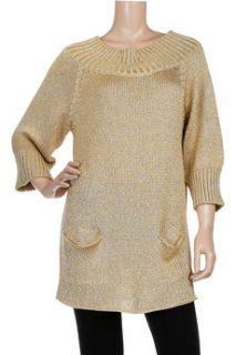 Tomas Maier Oversized metallic sweater