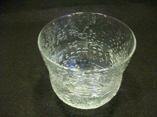 Iittala Finland Fauna Art Glass Bowl Vase Oiva Toikka