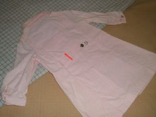 IKKS Girls Pink Shirt Dress New with Tags Size 24 Months So Cute
