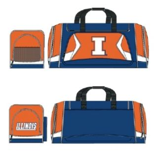 Illinois Fighting Illini Duffel Bag