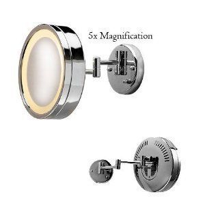 BATHROOM LIGHTED MIRROR BATH JERDON MIRROR WITH LIGHT MAKEUP MIRROR