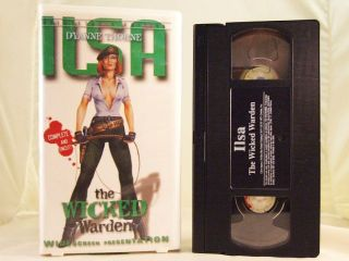 Ilsa The Wicked Warden VHS 1977 Dyanne Thorne Unrated