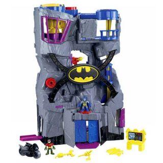 Fisher Price Imaginext DC Super Friends Batcave V8945 New Damage to