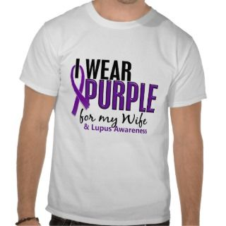 Wear Purple For My Wife 10 Lupus Tees