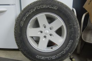 2012 Jeep Wrangler 17 Wheel and Tire Package