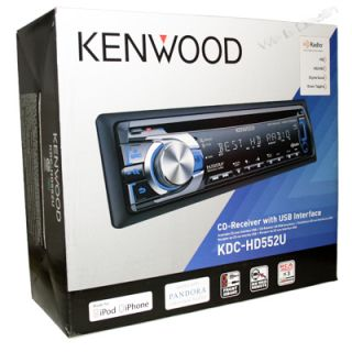 Kenwood 2012 in Dash Car Audio CD Player Am FM Stereo Receiver HD