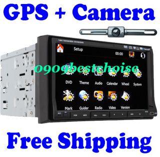 Dash 7 Car Stereo Audio DVD Player GPS Navigation Camera Map