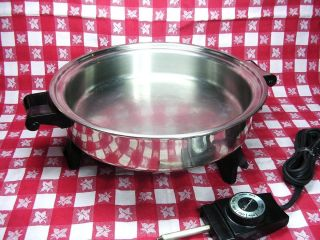 Saladmaster Liquid Core 11 inch 900 Watts Electric Skillet 7817