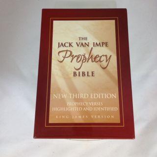 The Jack Van Impe Prophecy Bible King James Version Mint Condition