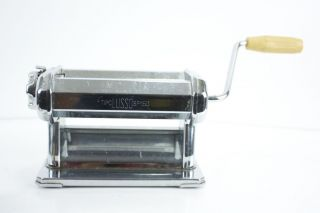 Imperia Tipo Lusso SP 150 Metal Hand Crank Pasta Maker w Manual Crank