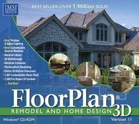 IMSI Floorplan 3D 11 New Vista 7 Floor Plan Home Design