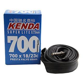 KENDA Inner Tube 700x18/23C para bicicleta de carretera con válvula