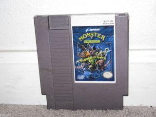 Monster in My Pocket RARE Nintendo NES Game