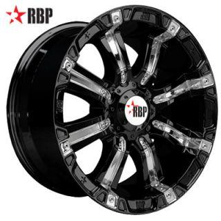 18 RBP 94R Wheels Tires Black Offroad 18 inch Rims