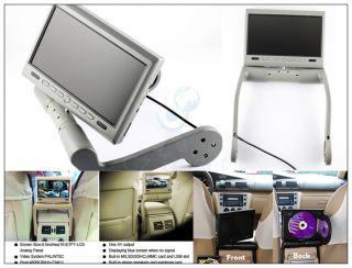 Armres Monior wih Buil in DVD Player in Car Media 3 Colors
