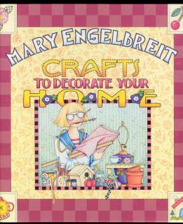 Mary Engelbreit Book Art Crafts to Decorate Your Home