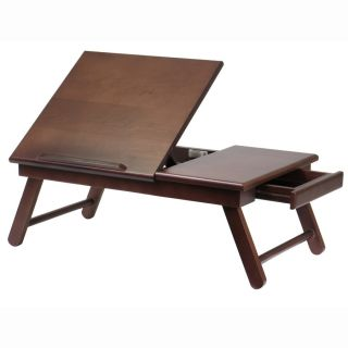 Alden Folding Laptop Stand Table Desk Car Bed Book Read Tray with