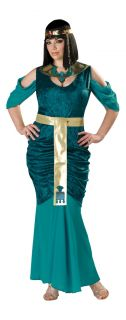 Egyptian Jewel Adult Plus Womens Costume Princess Royal Medieval Tribe