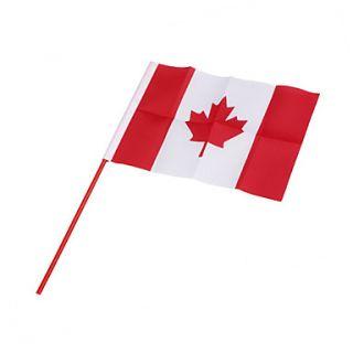 EUR € 1.83   Bandiera del Canada   grande 21,5 cm, Gadget a