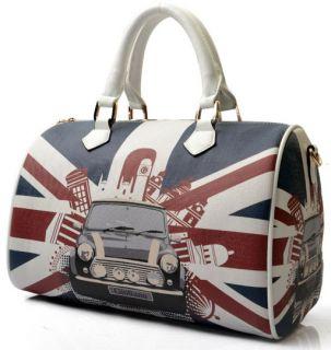 Ldays Union Jack British Flag Riet Shoulder Bag Tote Bag Lady Handbag