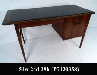 Unique Slate Top Walnut Desk P7120358 J