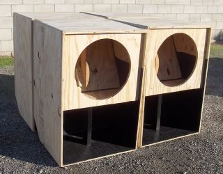 18 inch Bass Woofer Subwoofer Speaker Cabinet Box