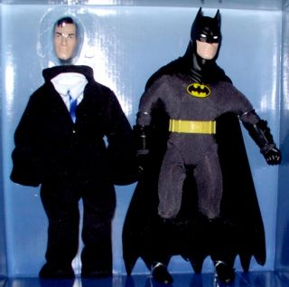 Hasbro Action Figure Batman Mego Style RARE Doll Variant Black Cowl
