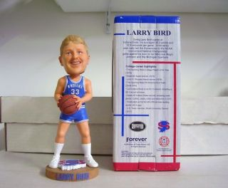 Larry Bird Indiana State Sycamores Hall of Fame Bobble Bobblehead