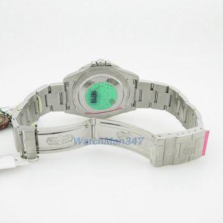 GMT Master II Black Dial Coca Cola Bezel Automatic Mens Watch