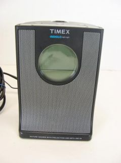 Timex Indiglo Model T4368 Projection Alarm Clock Radio with  Line