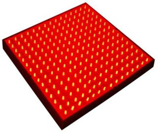 225 Red LED Grow Light Panel Indoor Grow Green House Hydroponic