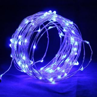 100 LED Copper String Fairy Light Christmas Tree Wedding School Party